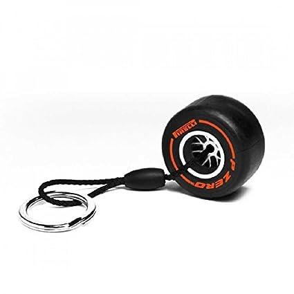 Pirelli HardTire Keychain Orange