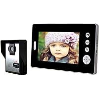 Shanyi 2.4GHz Digital Wireless 7 Monitor TFT Color Video Door Phone DoorBell Intercom