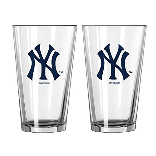 Yankees Pint Glass - 7