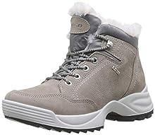 Igi&Co Donna Gore-Tex-41608, Botas de Nieve para Mujer, Marfil (Ghiaccio 4160811), 36 EU