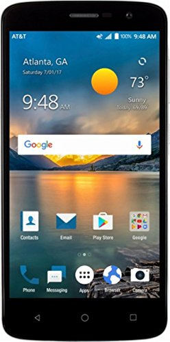 ZTE Blade Spark Z971, Android 7 1, 5 5-inch LCD, 1 4GHz, 16GB, Unlocked  (Code Provided), Smart Phone, Gray, Non-Retail Packaging, with FingerPrint