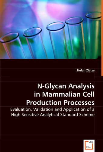 N-Glycan Analysis in Mammalian Cell ProductionProcesses: Evaluation, Validation and Application of a High Sensitive Analytical Standard Scheme -  Stefan Zietze, Paperback