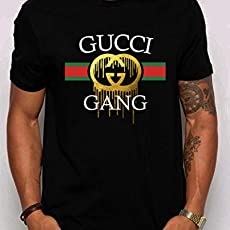 7aed2de04 Gucci Gang Lil' Pump Inspired New T-Shirt Men's Black. $17.99. Gucci  Vintage replica Panther