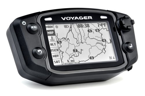 Trail Tech 912 301 Voyager Stealth Black Moto GPS Computer
