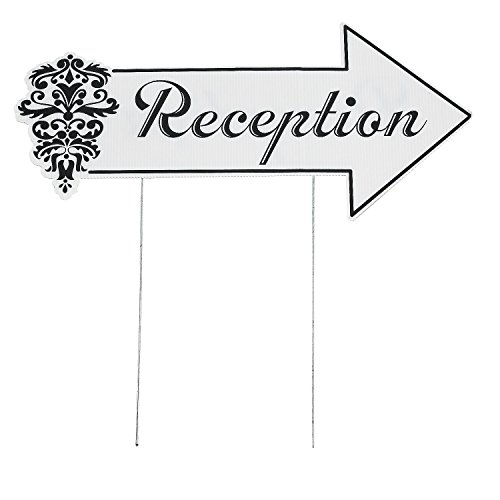 Reception Directional 20 5 Inch 9 5 Inch Plastic