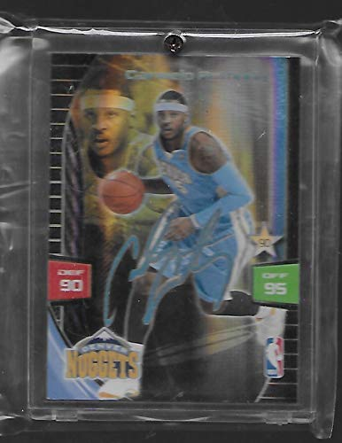 Carmelo Anthony 2009-10 NBA Adrenalyn XL Basketball Card # CAAN - Ultimate Signature - Stored in a Protective Plastic Display Case!!