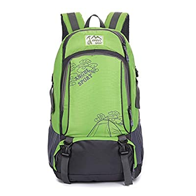 Vopack Lightweight Hiking Backpack 40L Durable Outdoor Camping Backpack Travel Daypack