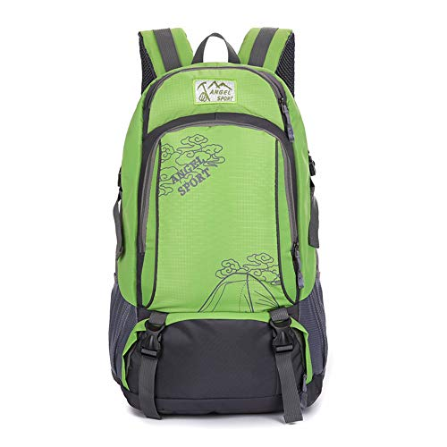 Vopack Internal Frame Water Climbing Backpack High-Performance Backpack for Backpacking Hiking Camping Daypack Green