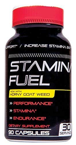 Stamina Fuel - Increase Stamina, Size, Energy, and Endurance and More with Muira Puama, Cayenne and Horny Goat Weed Formula to Maximize Physical Performance Endurance All Day 90 Caps ()