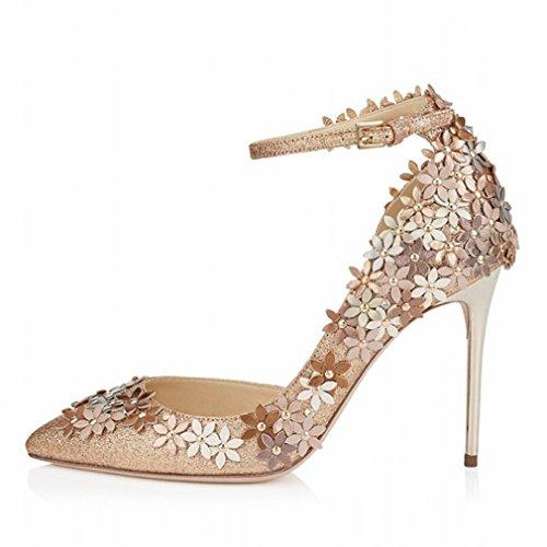 Fashion Tip Stiletto Heels Women Rhinestone Shoes B V3BH0pA
