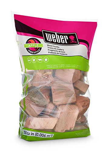 Weber-Stephen Products 17139 Apple Wood Chunks, 4 lb