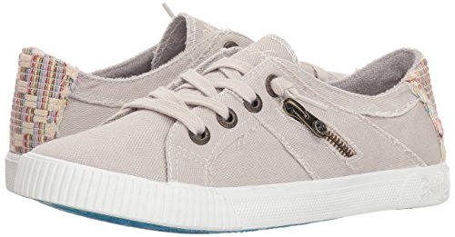 Pictures of Blowfish Women's Fruit Sneaker Sand Grey Sand Grey Smoked Oz Canvas 4