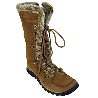 864132e6dde80 Womens Skechers Grand Jams Unlimited Suede Leather Ladies Fur Winter Boots  UK 7: Amazon.co.uk: Shoes & Bags