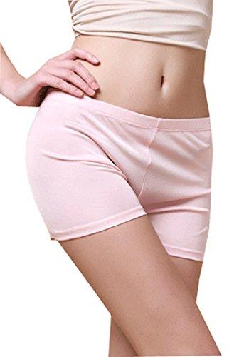 METWAY Womens Boy Shorts Underwear New 100% Mulberry Silk Waist Panties