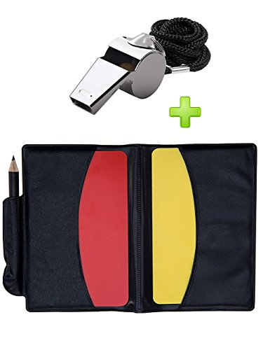 Soccer Football Referee Case with Red Card and Yellow Card - 1