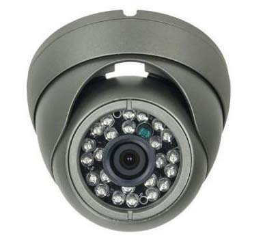 unix | TIB 0022-B | HD-TVI 1080p(2MP) Eyeball Camera w/Fixed Lens(3.6mm) & 24 IR LED