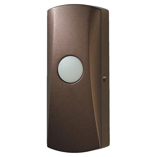 NuTone Wireless Pushbutton, Learn Mode, Oil-Rubbed Bronze (PB85BR) by Nutone