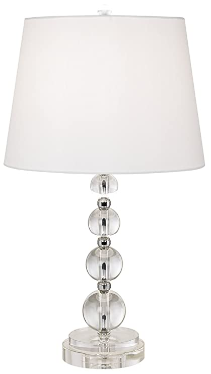 Stacked crystal sphere table lamp amazon stacked crystal sphere table lamp aloadofball Images
