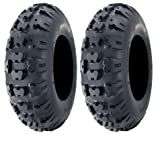 Pair of Kenda Kutter XC (6ply) ATV Tires Front [21x7-10] (2)