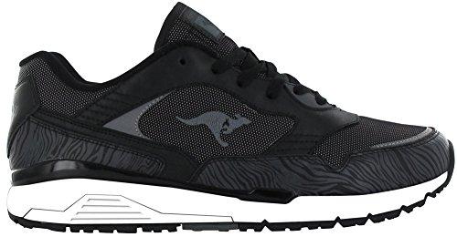 Kangaroos Shoes Womens ROOS Damen Schuhe Black Ultimate Black Sneaker Animal P8rYxpqwP