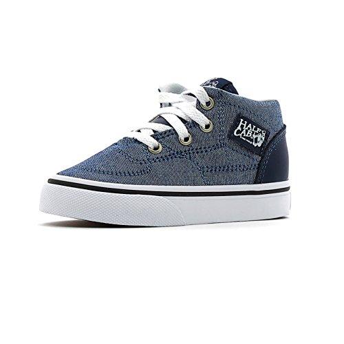 Vans, Sneaker bambini blu (C&L) Chambray/Blue