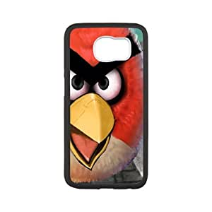 Angry Birds Theme Phone Case Designed With High Quality Image For Samsung Galaxy S6