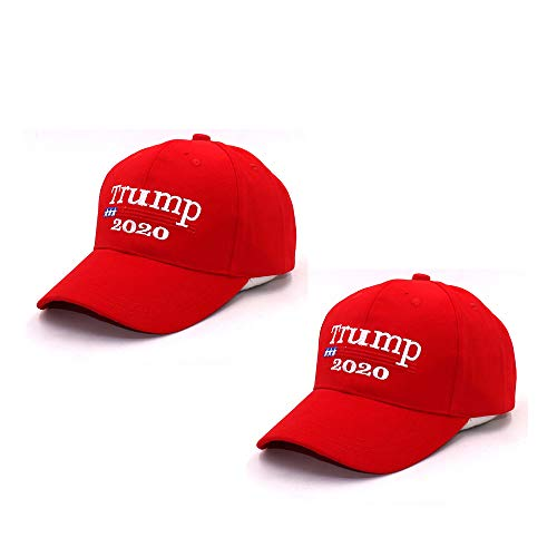 Afaston Keep America Great Hat, Donald Trump 2020 Presidential Election Cap- Adjustable Baseball Hats-Unisex (red1)
