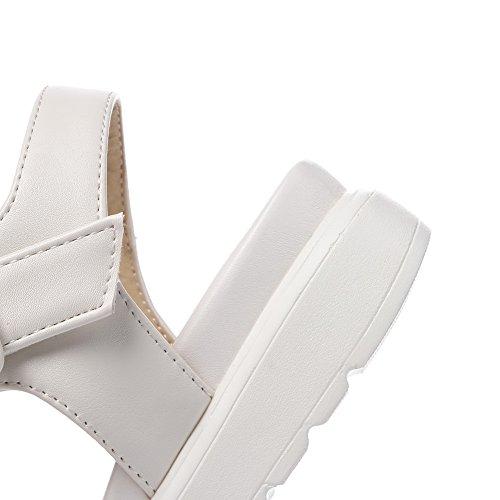 Bianco Donna Sconosciuto 1TO9 35 White Ballerine qEYBxYt