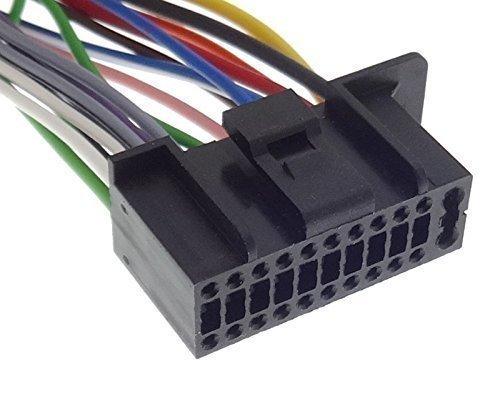 KENWOOD (5) Autoradio Kabel Radio Adapter Stecker ISO Anschlusskabel ...