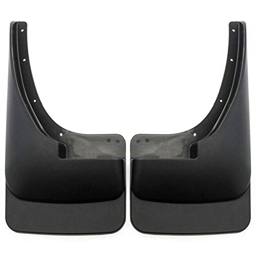 Red Hound Auto Mud Flaps Compatible with 1994-2001 Dodge Ram 1500 and 94-02 2500 3500 Front or Rear 2pc Pair (Flap Dodge Ram Dual)