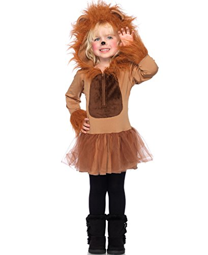 Leg Avenue Lion Costumes - Cuddly Lion Child Costume - Small