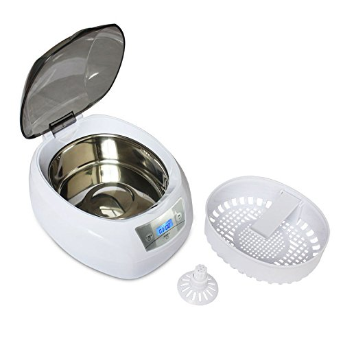 Digital 750ml Ultrasonic Cleaner For Jewelry Manicure Cutters Tools Dental Glasses Watch Coin Ultra Sonic Cleaner