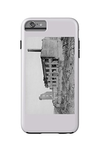 Astoria  Oregon Fire View Of Astoria Natl  Bank Photograph  Iphone 6 Plus Cell Phone Case Cell Phone Case  Tough