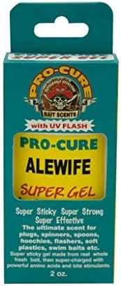 Pro-Cure Bait Scents Alewives Gel