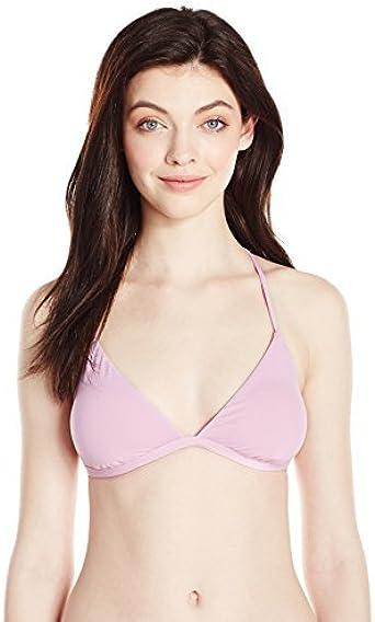 ONEILL Womens Salt Water Solids Bikini Top Swimsuit