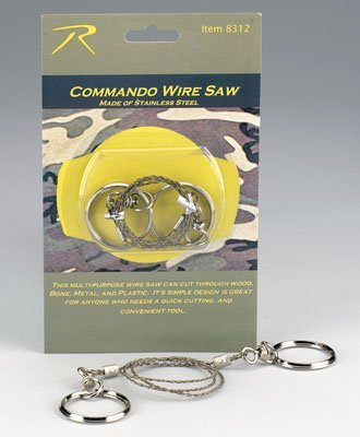 Rothco Commando Wire Saw, Outdoor Stuffs