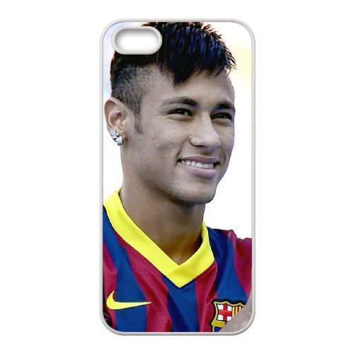 Neymar Phone Case And One Free Tempered-Glass Screen Protector For iPhone 5,5S T268124