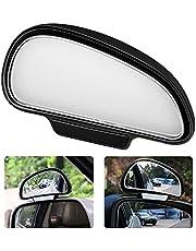 P62DS KFZ bil död vinkel spegel ytterspegel blindspegel körskola spegel extra spegel svart höger sida död vinkel spegel bil