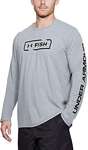 Under Armour UA Fish Icon XL STEEL LIGHT ()