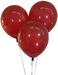 """Creative Balloons 12"""" Latex Balloons - Pack of 100 Pieces - Decorator Burgundy Wine"""