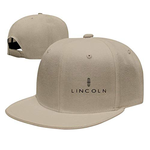 NVT NA Lincoln-Logo Baseball Caps Women Man Hat