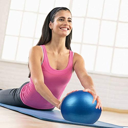 Kylewo Mini Pelota de Pilates, Pelota de Yoga de PVC Mini Pelota ...
