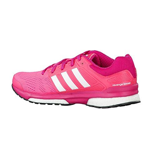 Blanco para Adidas Fucsia Mujer Revenge 2 Boost Zapatillas W Rosa fzzAvHSq
