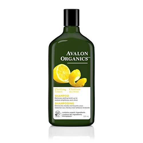 Avalon Organics Clarifying Lemon Shampoo, 11 oz. (Pack of 2)