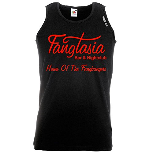 Fangtasia-True Blood Style-Starlite-Mens Funny Tank Tops T-Shirts-funny gifts