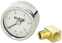 Holley 26-500 Mechanical Fuel Pressure Gauge