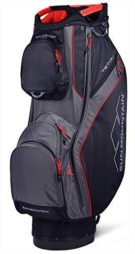 - Sun Mountain 2019 Teton Cart Bag Black/Red