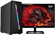PC Gamer Completo AMD 10-Core CPU 3.8Ghz 8GB (Placa de vídeo Radeon R5 2GB) SSD e HD 2TB Skill Monitor HDMI LE