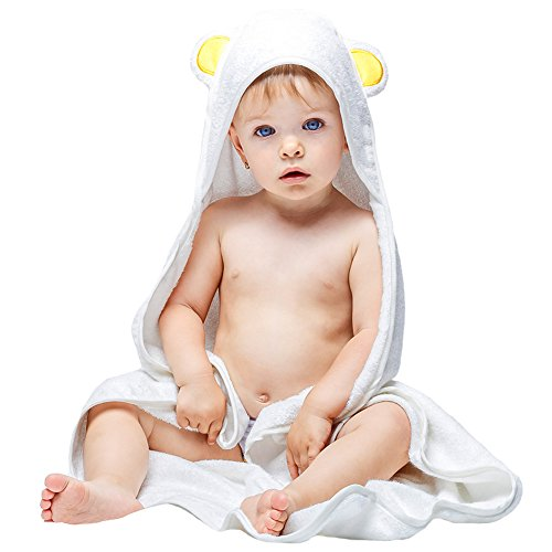 Baby Absorbent Back Towel (Bear) - 2