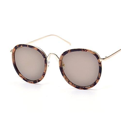 Gafas Gold Moda Unisex De Gafas Espejo Popular Nuevas Sombra Sol Tendencia Red Retro De Sol De RZ4xdq